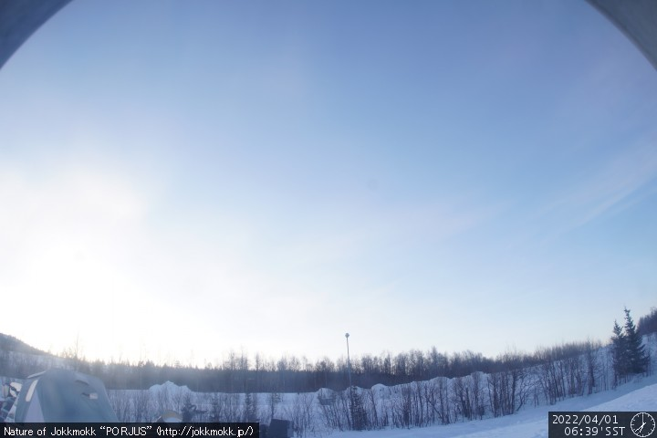 Web Camera is located in Porjus, Sweden.
